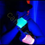 UV Fishnet Handsker S
